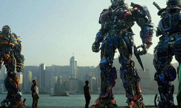 Transformersy zgarniają podium czyli Box Office.