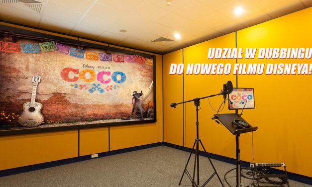 Coco konkurs – wygraj udział w dubbingu