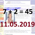 7+2=45 czyli świętowanie czas zacząć